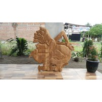 Semar Wood Carving