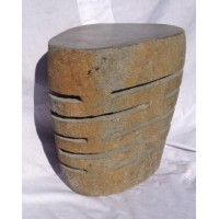 Natural Stone Lamp Stool