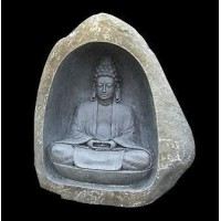 Natural Stone Carved Budha