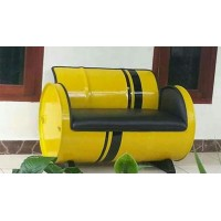 Oil Drum 4 Piece Furniture Set