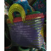 Upcycled Woven Shopping Bag