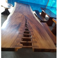 Large Suar Slab Wood Tables (6 Metre)