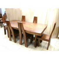 Teak Wood - 7 Piece Kitchen or Dining Room Set