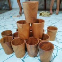 Teak Cup (without handle)
